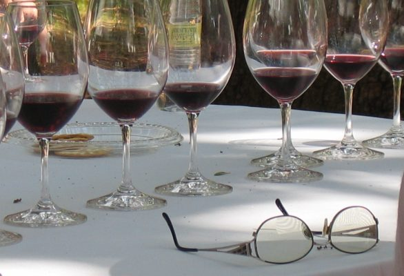Vineyard property search and selection